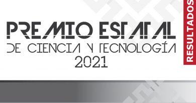 """Resultados """"Premio Estatal de Ciencia y Tecnología 2021""""."""